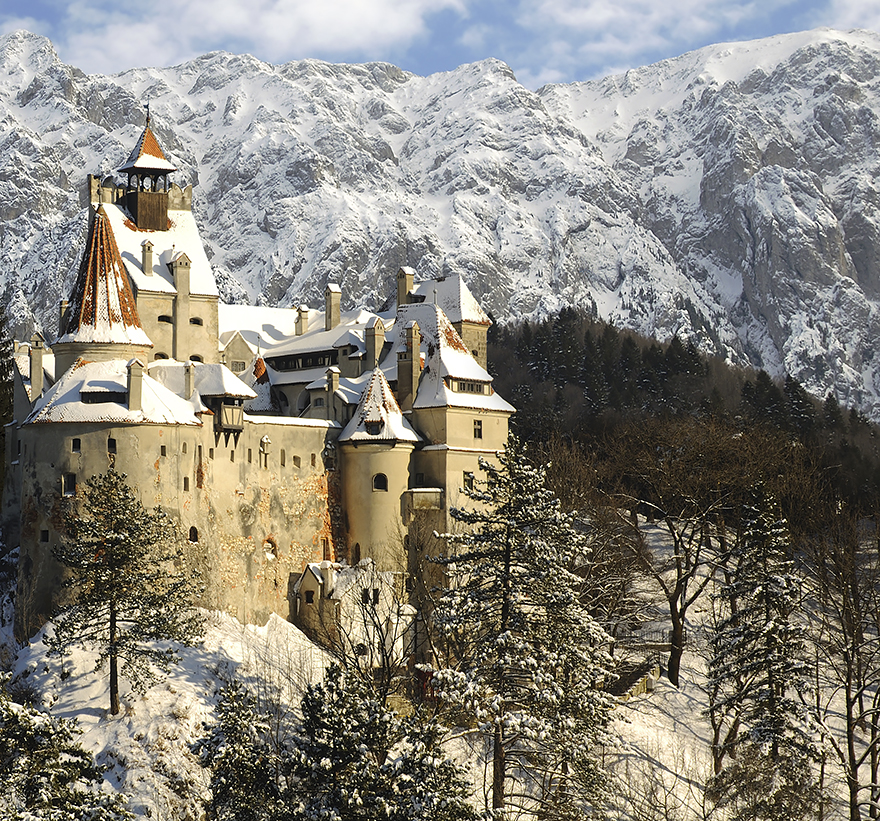 14. Here is the Dracula Castle