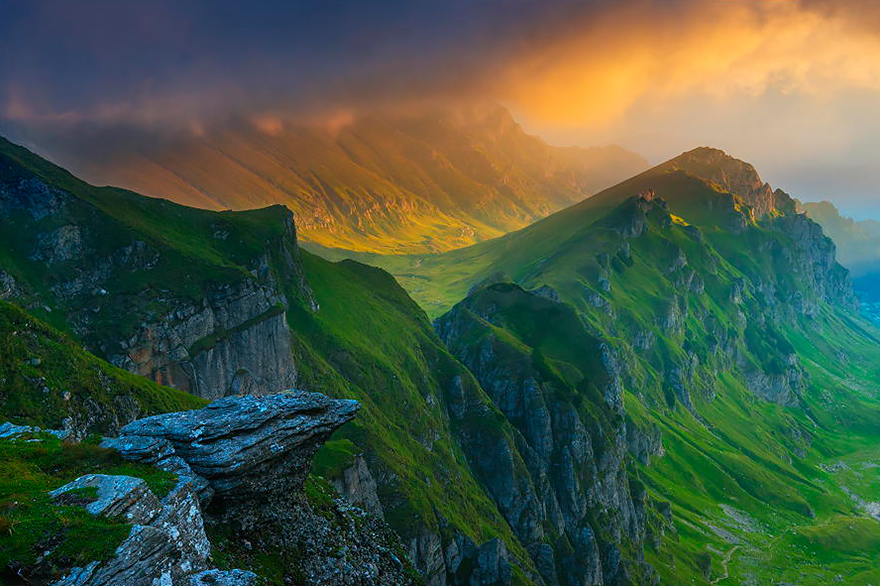 3. Bucegi Mountains
