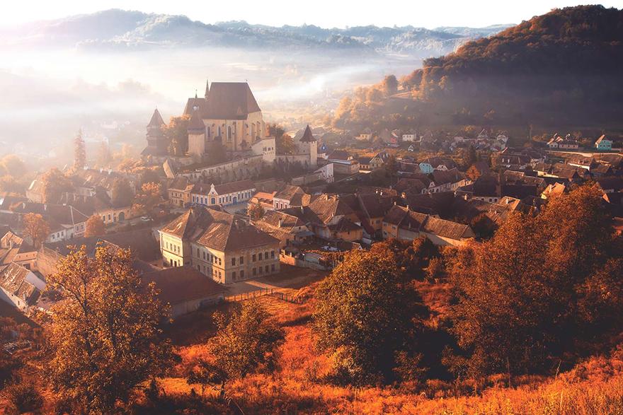 5. Autumn in the Village Biertan
