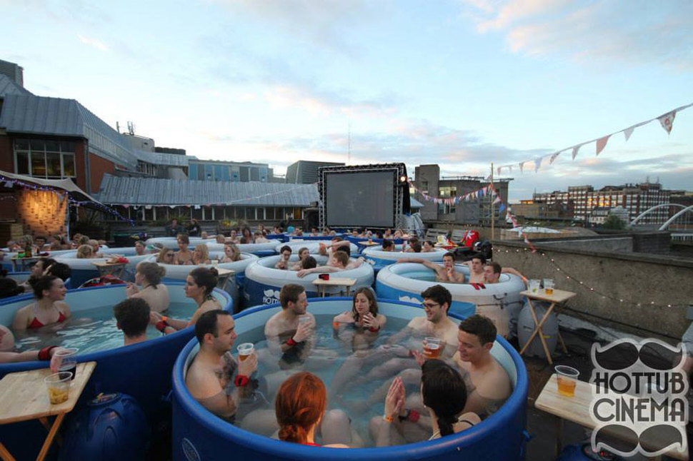 13. Hot Tub Cinema, London