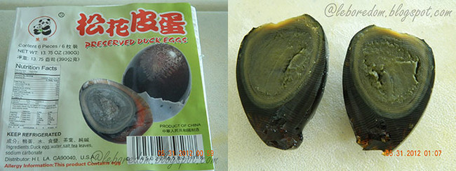 20. Preserved Duck Eggs