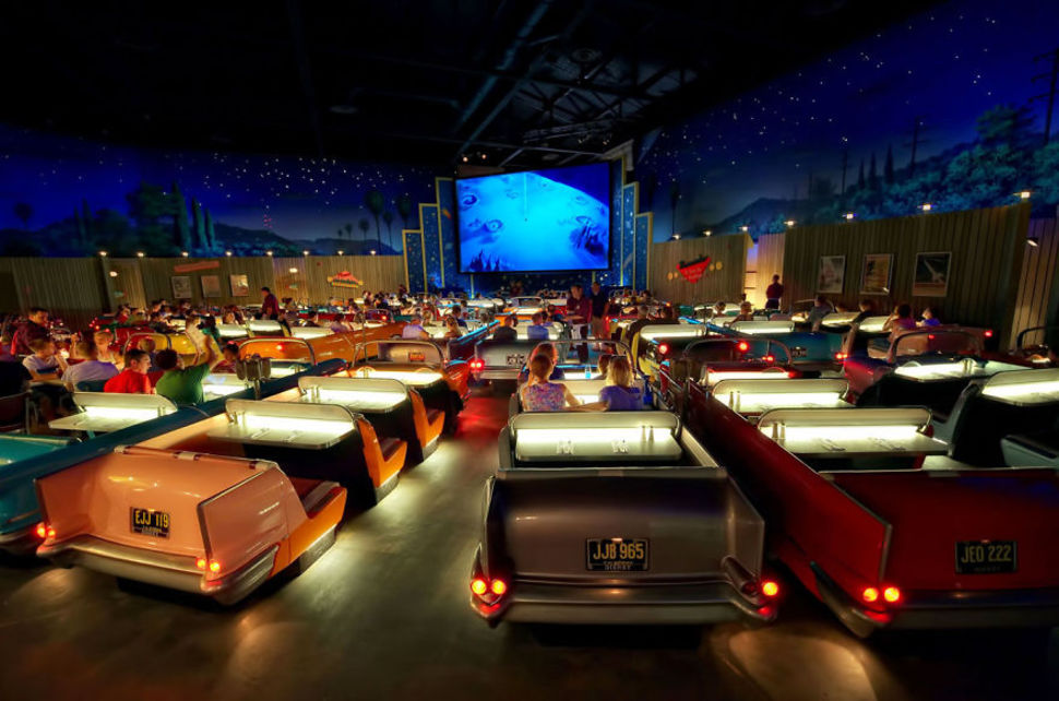 4. Sci-Fi Dine-in Theater, Disney Hollywood Studios