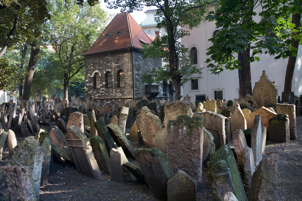 1. Old Jewish Cemetery in Prague
