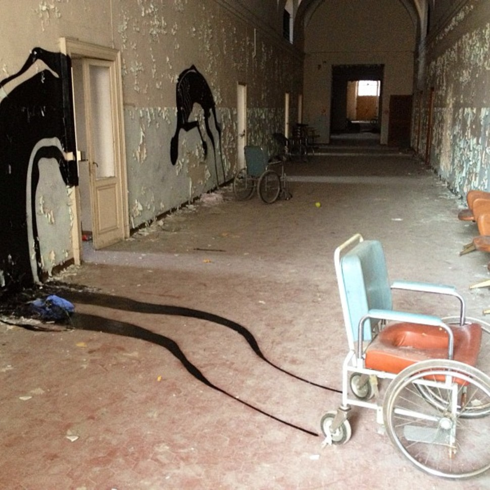 10. Abandoned psychiatric hospital in Parma, Italy