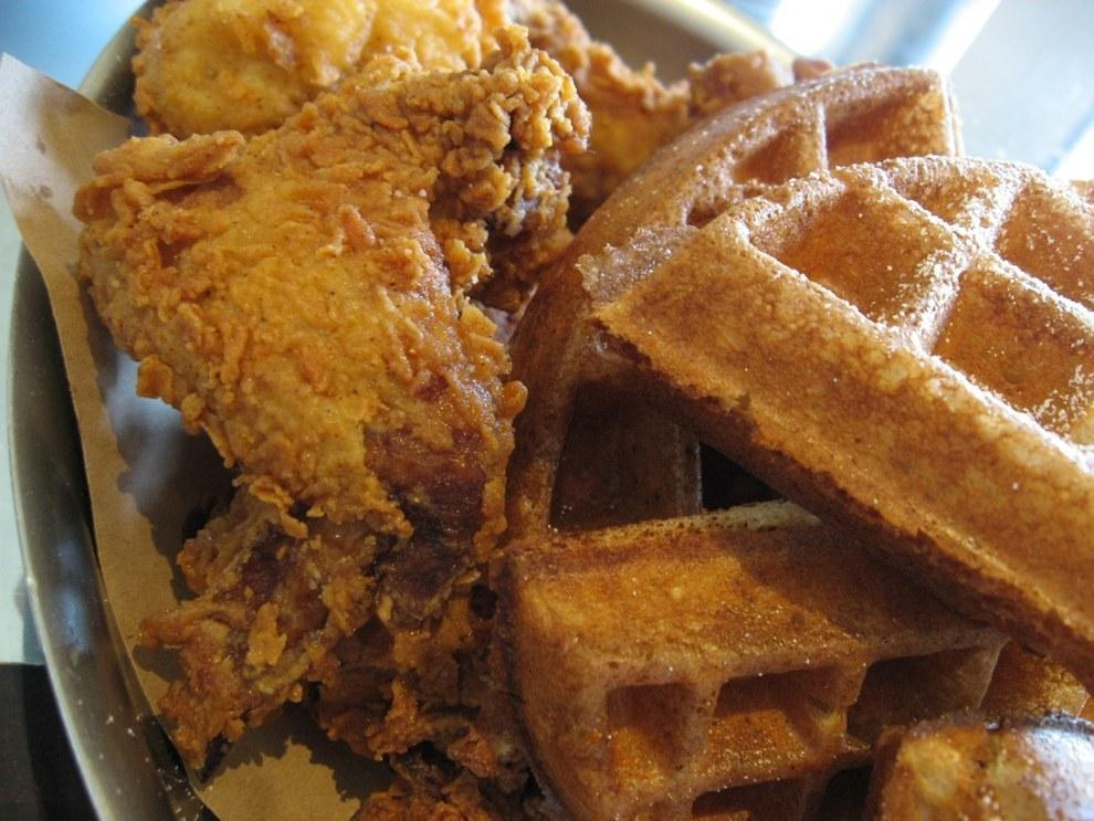 10. Chicken and Waffles