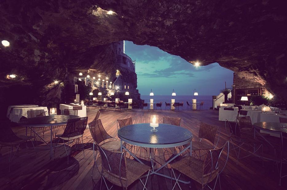 10. Ristorante Grotta Palazzese in Italy