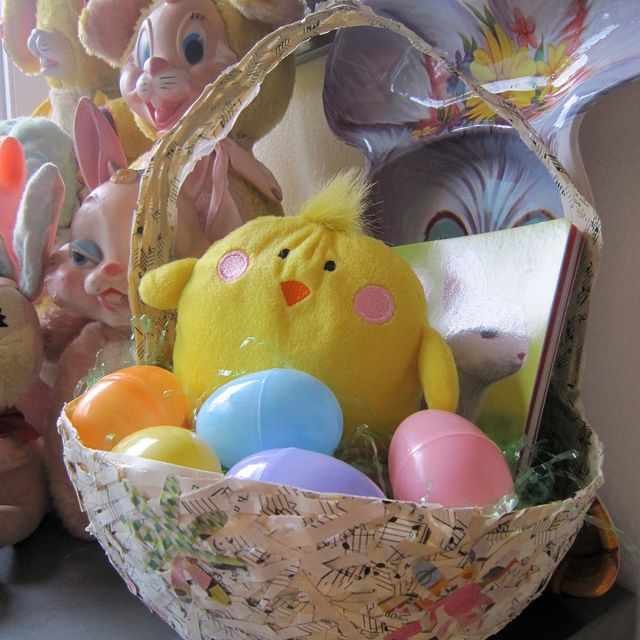 17 creative and amazing diy easter basket ideas for this year musical easter baskets negle Images