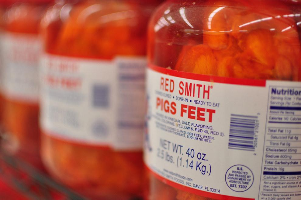 11. Pickled Pigs Feet