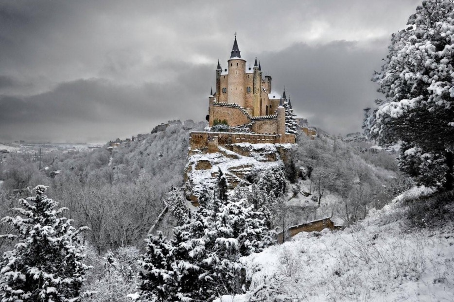 12.  The Alcazar of Segovia in Spain