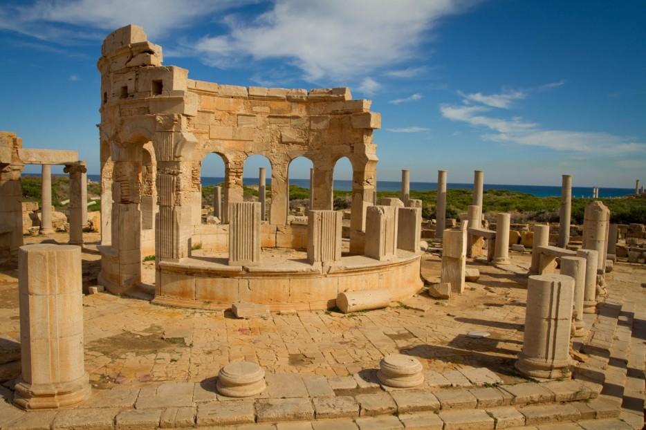 13. Leptis Magna in Tripoli, Libya