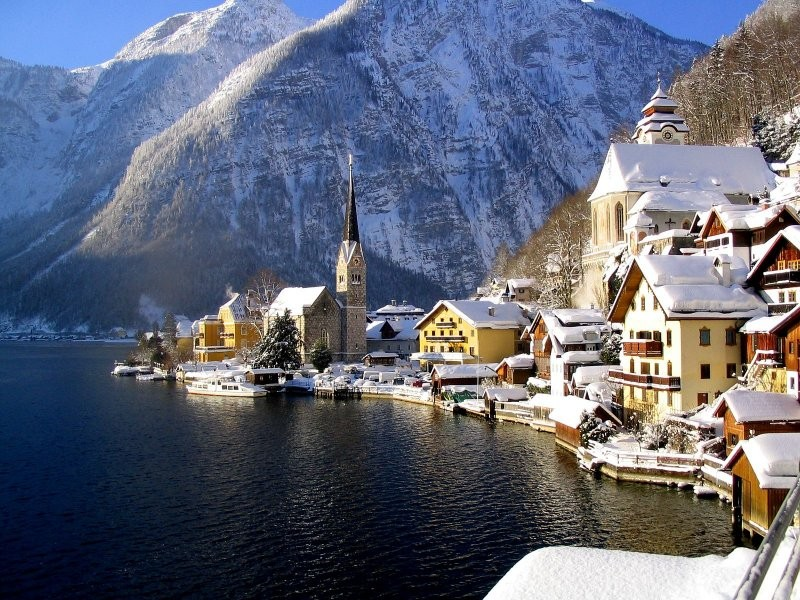 14. Hallstatt in Austria