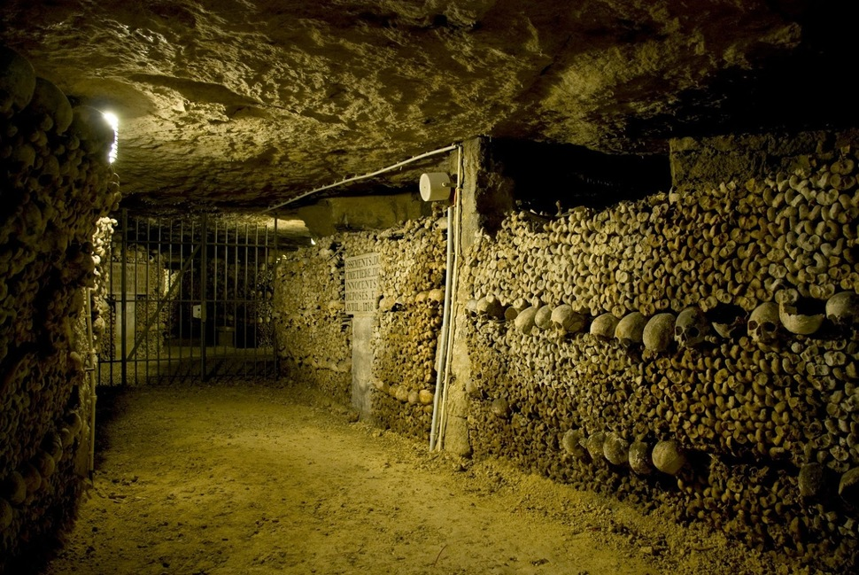14. The Catacombs in Paris
