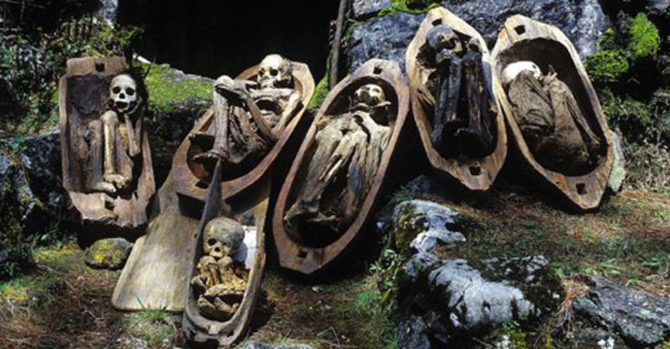 19. Fire Mummies of the Philippines