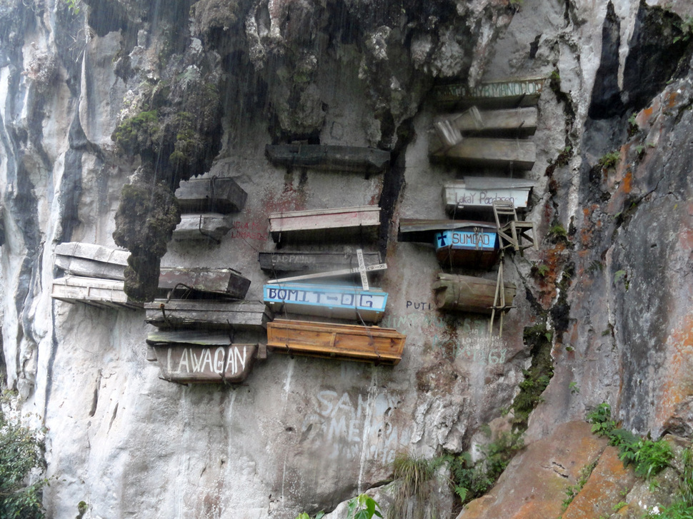 2. Hanging Coffins of Sagada, Philippines