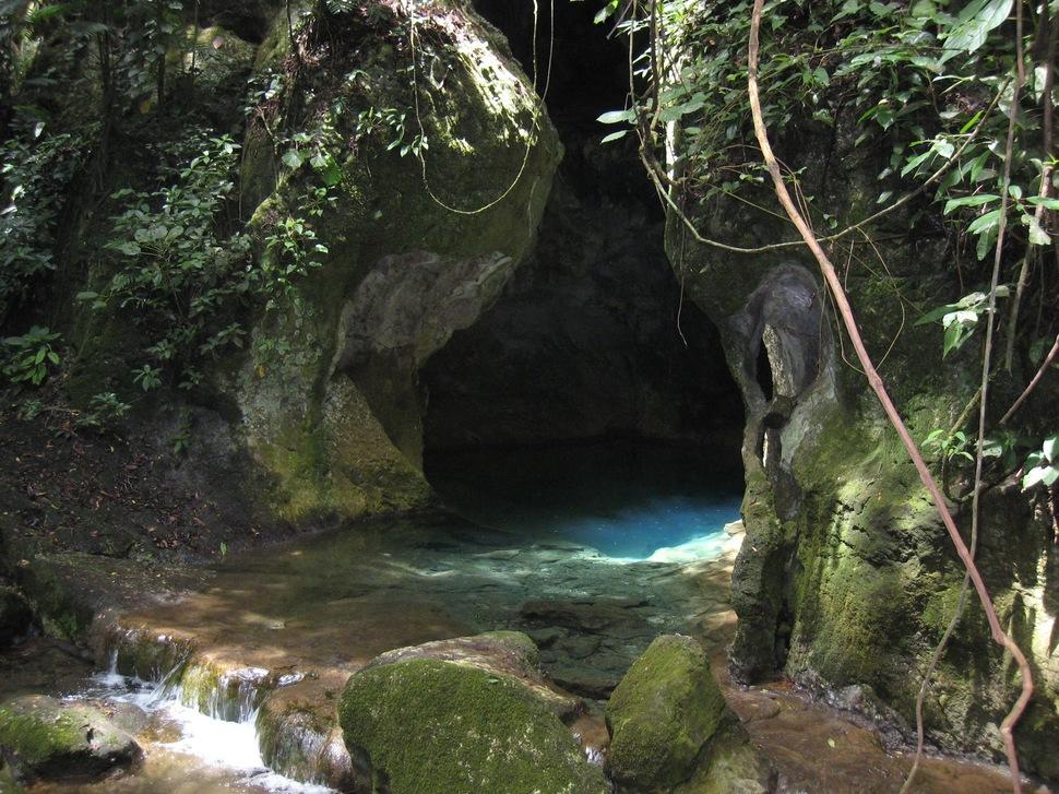 22. Actun Tunichil Muknal cave in Belize