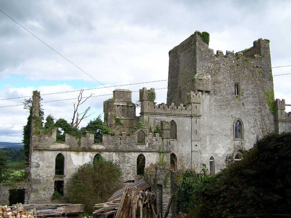 23. Leap's Castle in Ireland