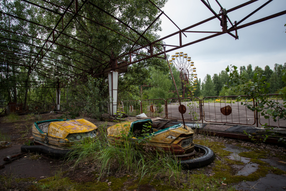 3. Abandoned city of Pripyat, Ukraine