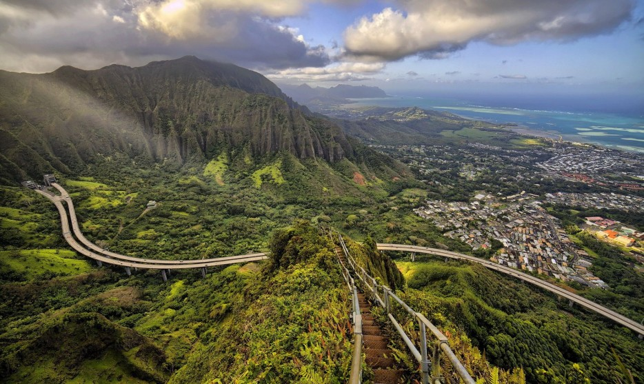 3. Haiku Stairs in Hawaii