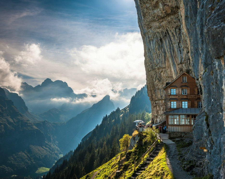 4. Aescher, Switzerland