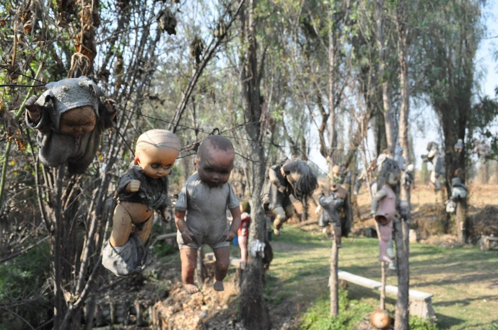 4. Island of the Dolls in Mexico