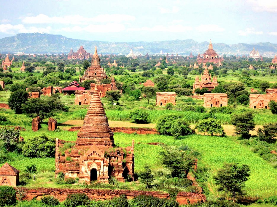 5. Bagan, Burma