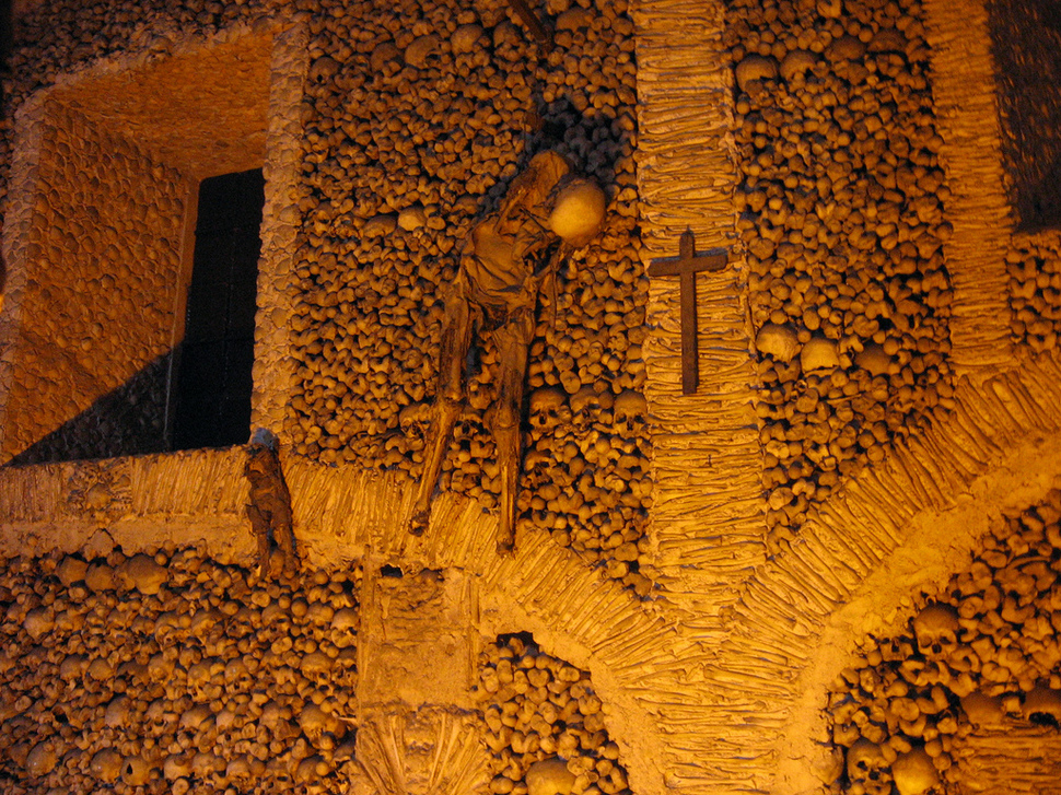 6. Chapel of Bones in Portugal