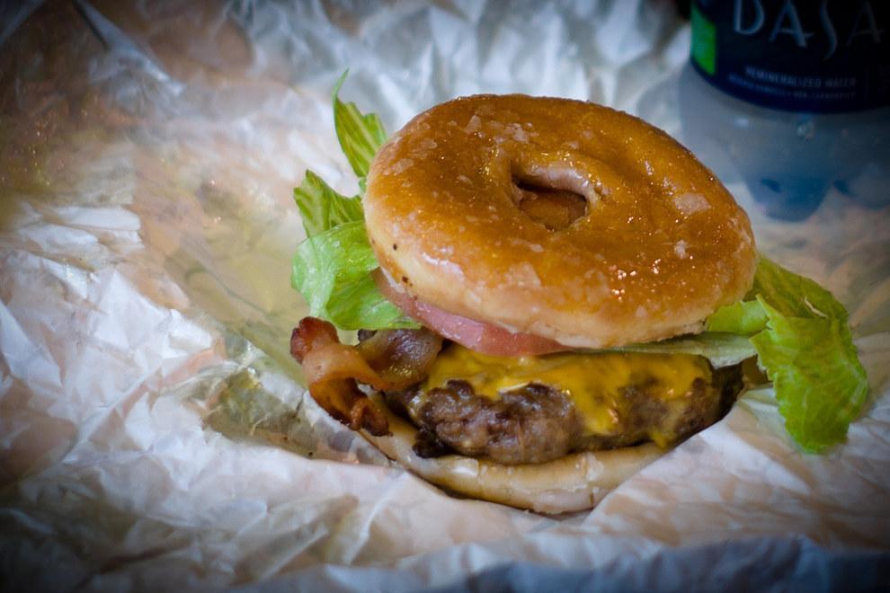 7. Doughnut Burger