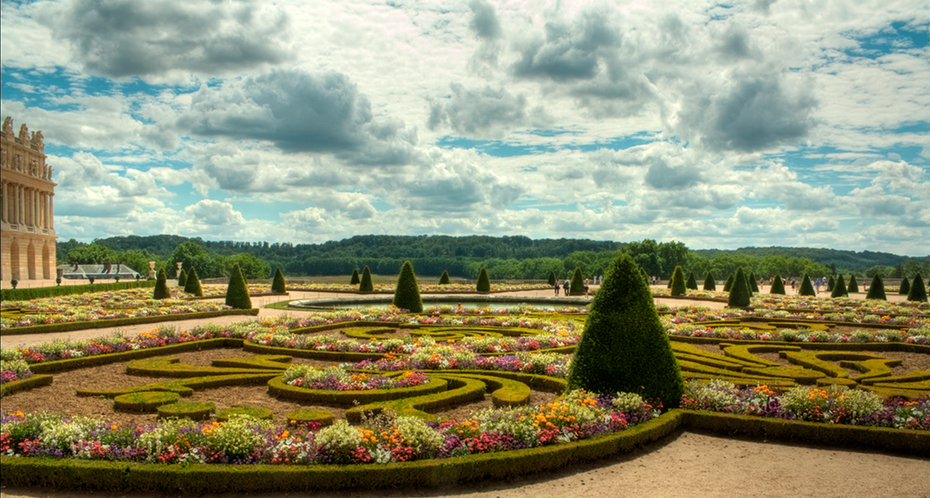 Garden of Versailles, France