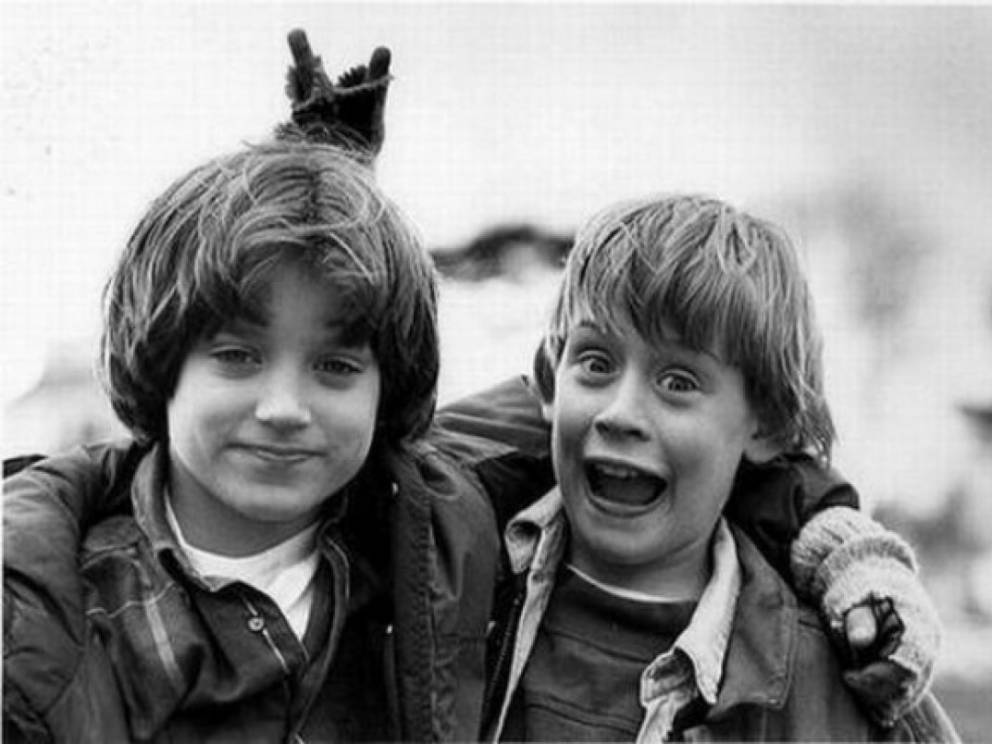 1. Elijah Wood And Macaulay Culkin