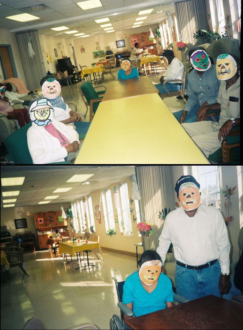 11. Halloween in a nursing home