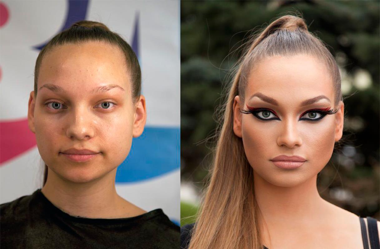 Делать самый настоящий макияж