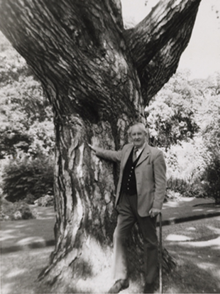 13. Final image of author J.R.R. Tolkien