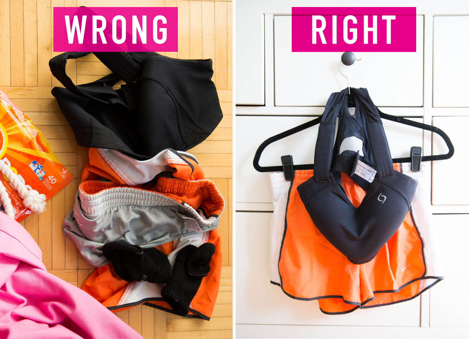 These Hacks Will Keep Your Clothes As Good As New Exactly