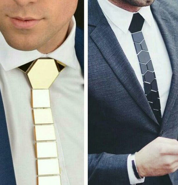 15. Awesome looking tie