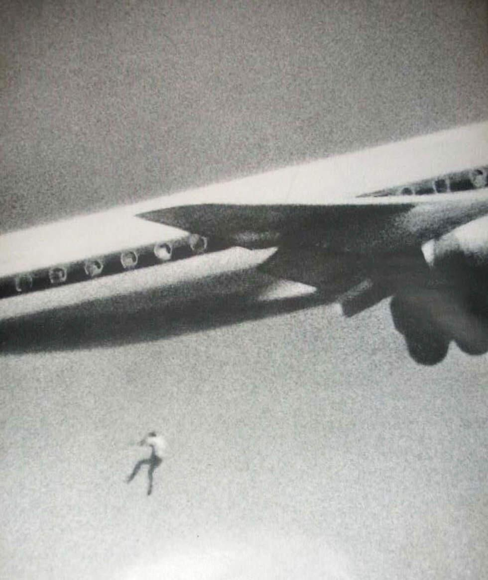 16. A stowaway on a flight from Japan to Australia accidentally falls from the wheel well of a plane