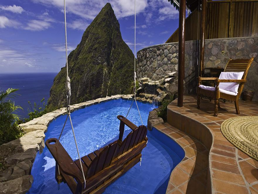 17. Ladera Resort, St. Lucia