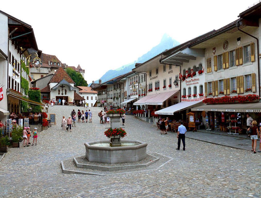 2. Gruyères, Switzerland