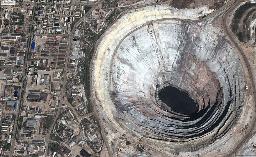 2. Mir mine, Russia.