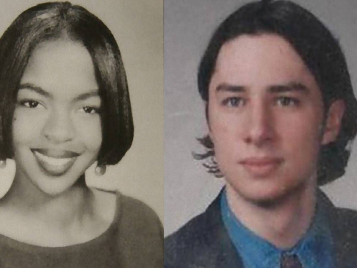 2. Zach Braff And Lauryn Hill