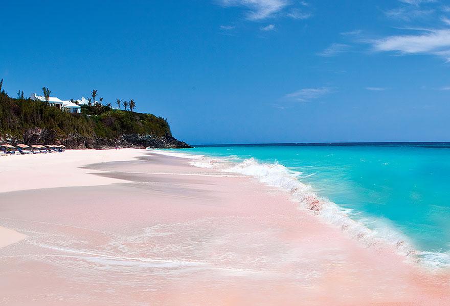 25. Pink Sand Beach