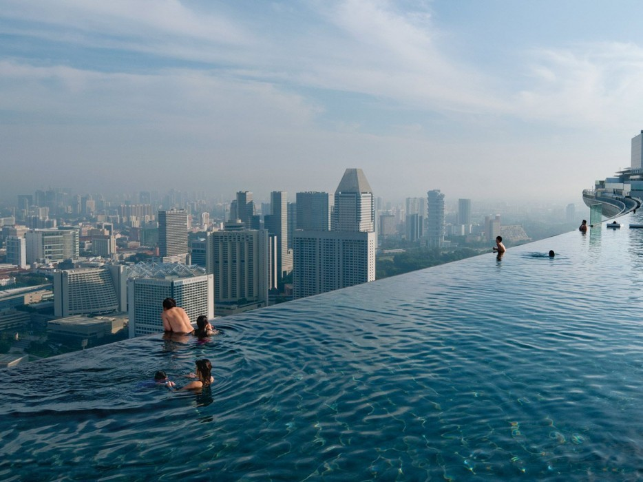 3. Marina Bay Sands in Singapore