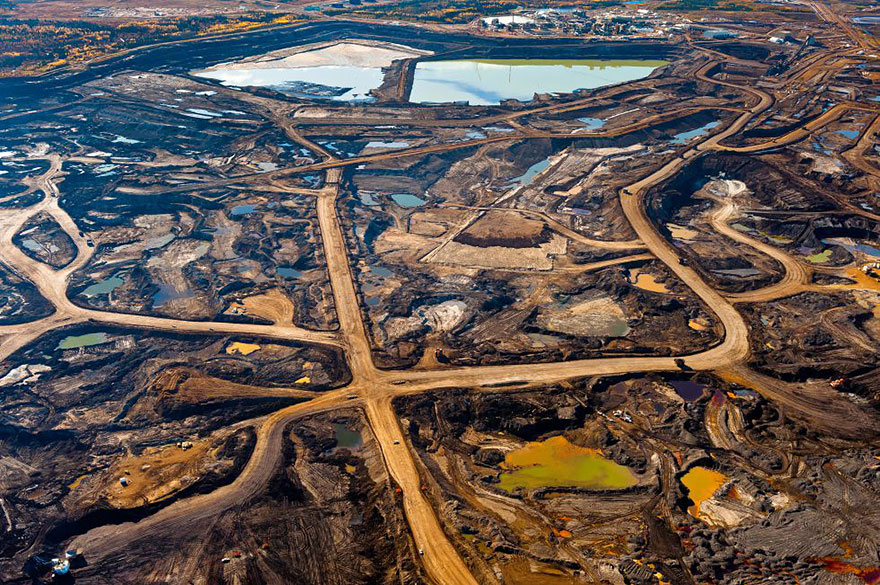 4. Alberta's tar rich zone destroyed
