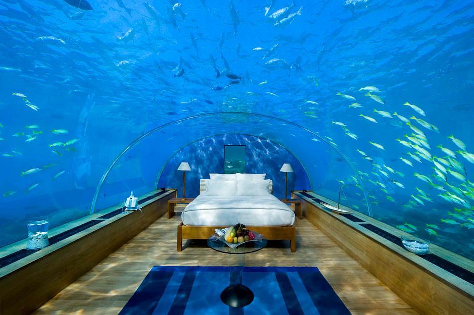 7. Conrad Maldives Hotel