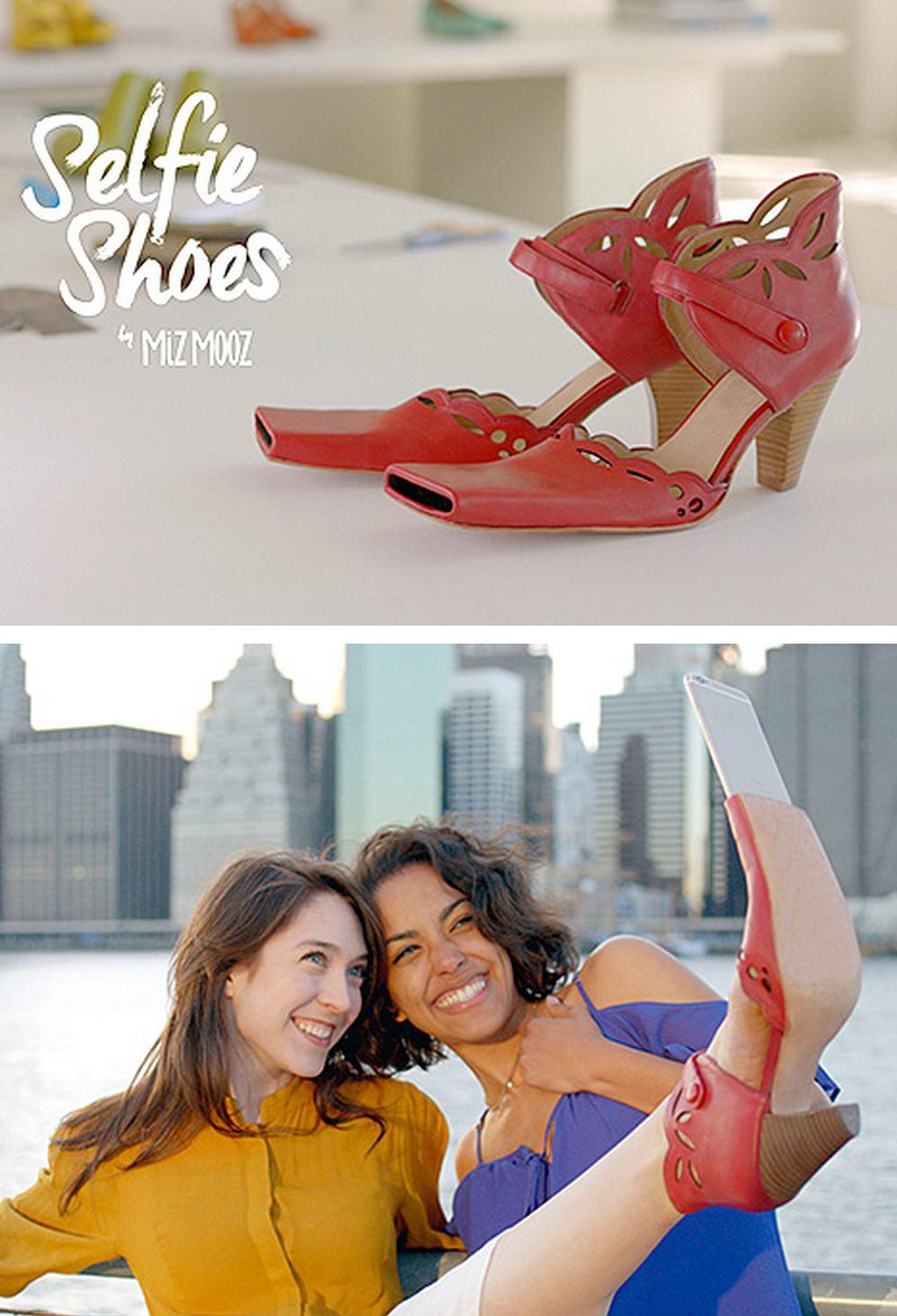 8. Selfie shoes?