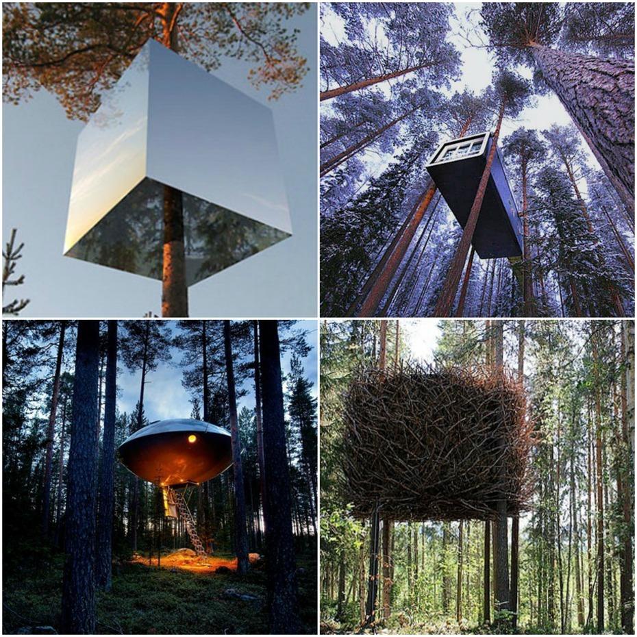 11. Treehotel, Sweden