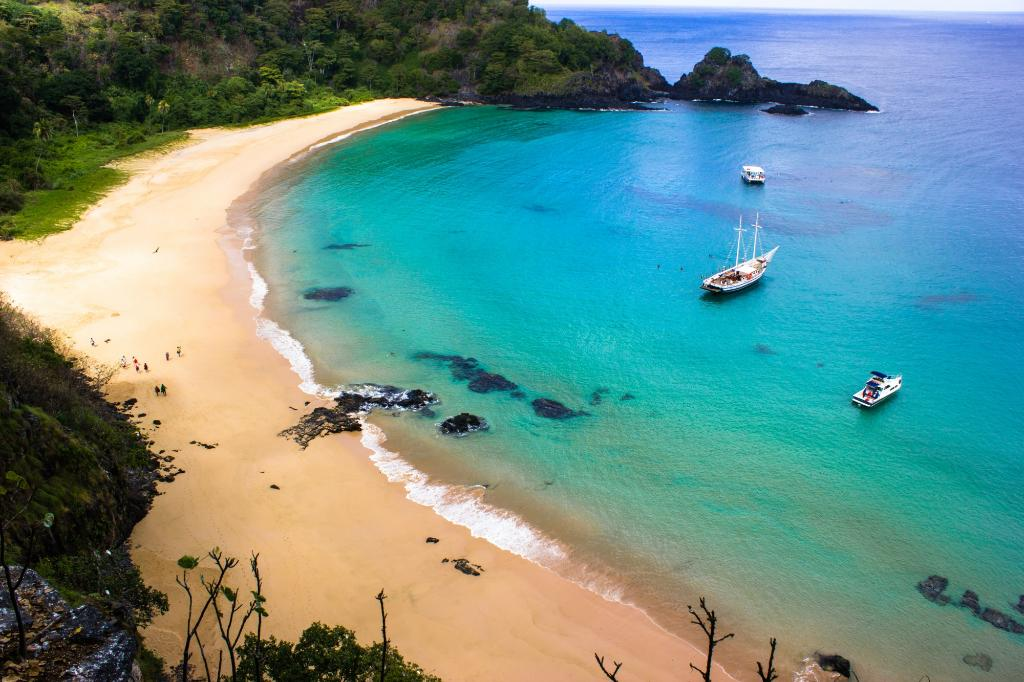 1. Baia do Sancho in Fernando de Noronha, Brazil