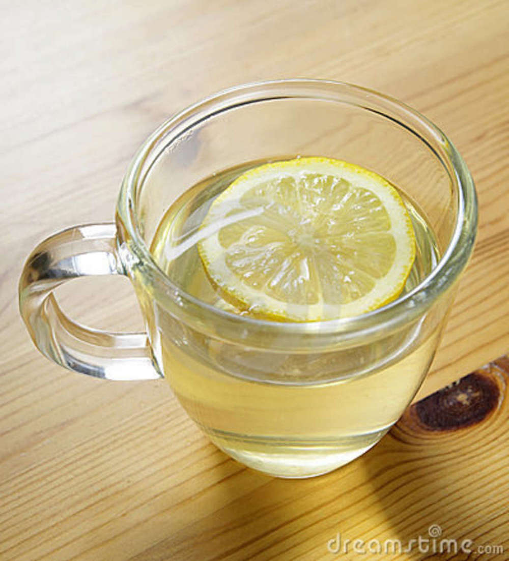 10. Lukewarm water with lemon early in the morning is the best