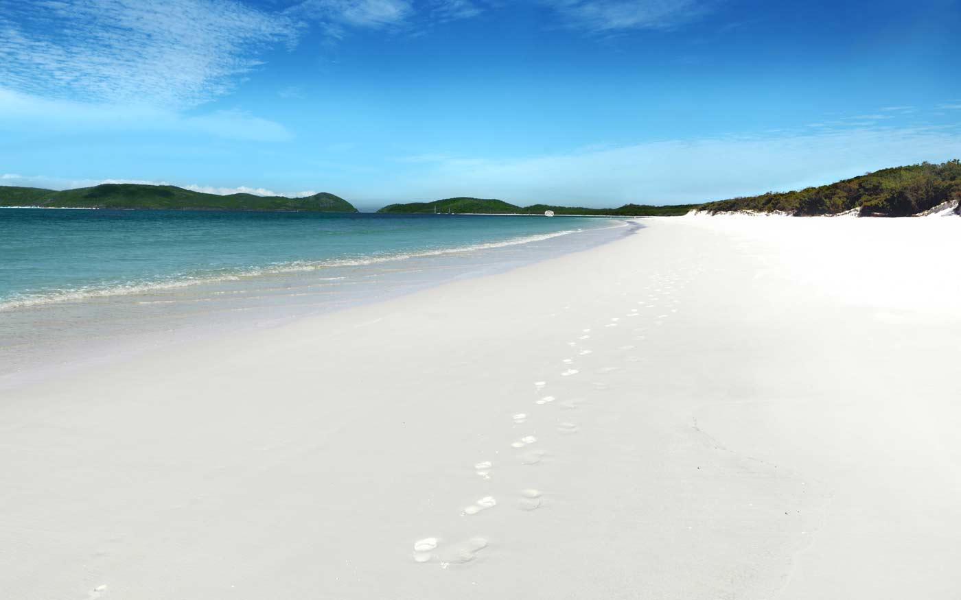 10. Whitehaven Beach, Whitsunday Island
