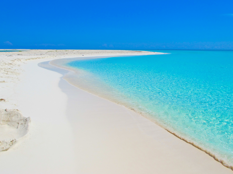 13. Playa Paraiso Beach in Cayo Largo, Cuba