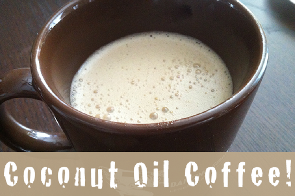 14. Add a tablespoon of coconut oil to your coffee to stabilize blood sugar levels